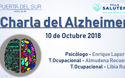 Charla sobre el Alzheimer + Tríptico informativo